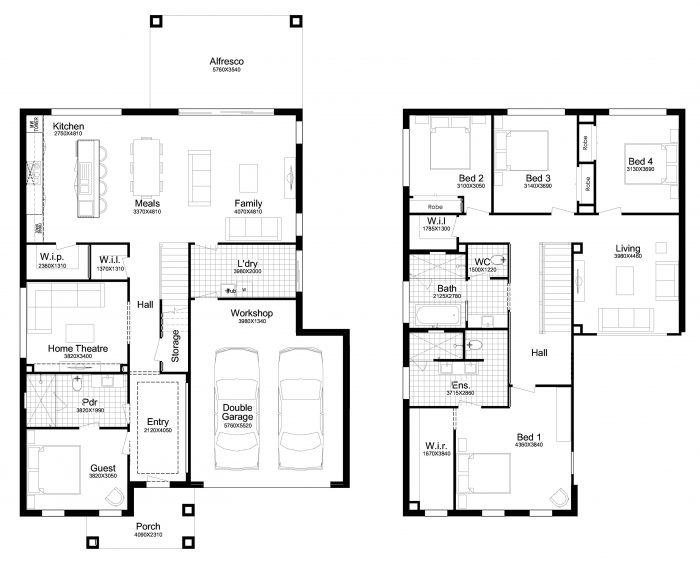 Floor plan for Glenbrook 36